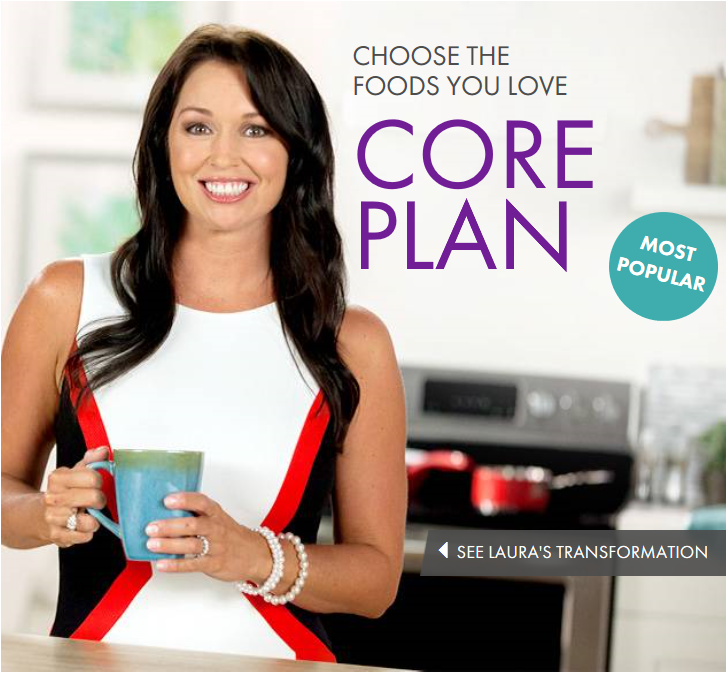 nutrisystem core meal plan